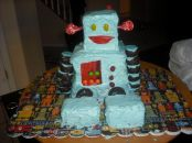 Robot Cake - 3moons.co