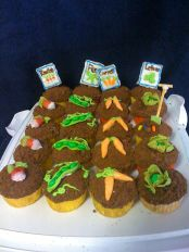 Garden Cupcakes - 3moons.co